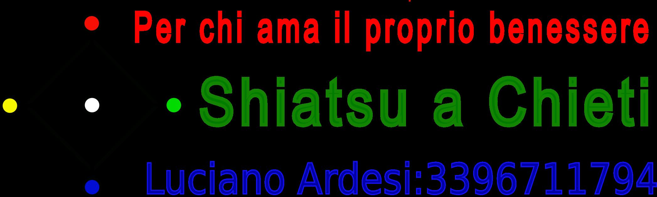 Shiatsu a Chieti